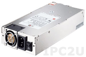 ZIPPY P1A-6301P 1U AC Input 300W ATX Industrial Power Supply, ATX12V, with Active PFC