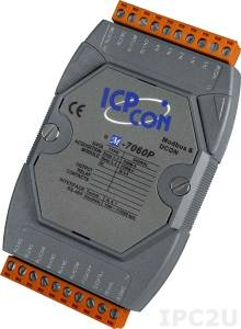 M-7060P Isolated Digital I/O Module, Modbus, EMS Protection