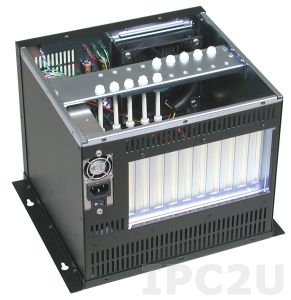 "GHB-083-10 Wallmount Chassis, 10 Slots, 1x5.25""/1x3.5""/1x3.5"" HDD Drive Bays, without P/S"
