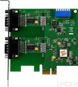 VEX-112 2xRS-232 115.2Kbps PCI Express Board