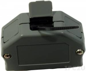 CA-3813 Plastic cover for 13-pin 3.81mm and 14-pin 3.5mm pitch (without connector)