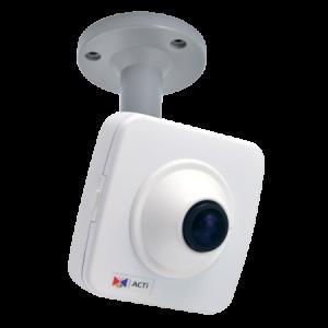 E15 5MP Fisheye Cube with Basic WDR, Fixed lens, f1.19mm/F2.0, H.264, DNR, Audio, MicroSDHC/MicroSDXC, PoE