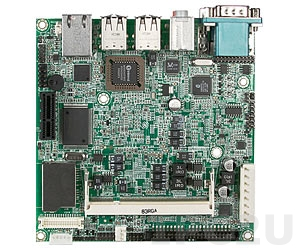 NANO-8044-1100 Nano-ITX Intel Atom Z510 1.1GHz CPU Card with VGA, LVDS, Gb LAN, CF, 1xSD, 1xIDE, 6xUSB, Audio, 1xPCI-Ex1