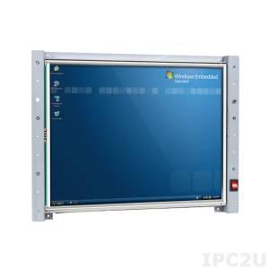 "VOX-150-TS 15"" TFT LCD Panel PC w/ touch screen, Vortex86MX 1GHz CPU Board, 512MB DDR2 RAM, VGA/LCD/LVDS, LAN, 6xCOM, 3xUSB, GPIO, FDD, CompactFlash Socket"