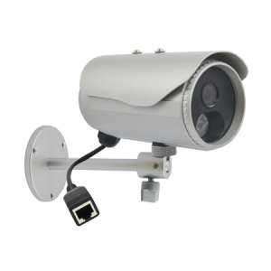D32 3MP Bullet with D/N, Adaptive IR, Fixed lens, f4.2mm/F1.8, H.264, 1080p/30fps, DNR, PoE, IP66