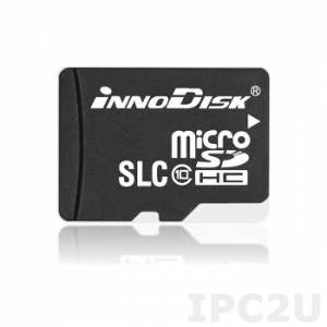 DS2M-01GI81AC1SB 1GB Industrial Micro SD Card, Innodisk, SLC, Single Channel, R/W 14 / 8 MB/s, Standard Temperature 0..+70 C