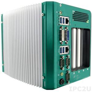 iROBO-4040-i5 Fanless Box-PC, Intel Core i5-3610ME 2.7GHz CPU, Intel HM76 Chipset, VGA, HDMI, DVI, 2xGbit LAN, 4xUSB, 3xCOM, CFast, 2.5'' SATA Drive Bay, 4x PCI, Wide Temperature -25..+60C