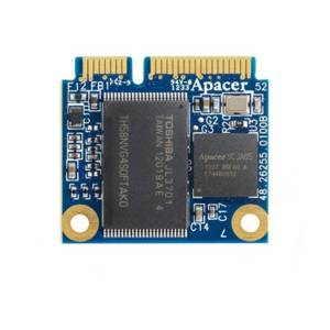 APSDM064GM5AN-PCM APACER mSATA SSD, SATA 2, 64GB, MLC, operating temperature 0..70C