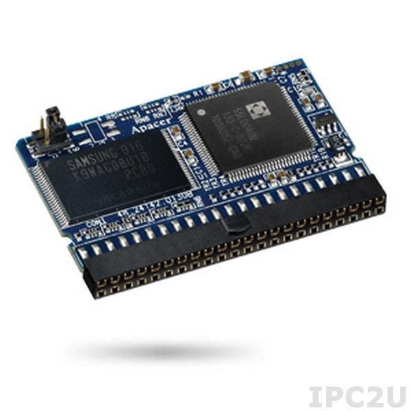 AP-FM0256E20S5S-QT1H APACER Disk on module, IDE 44pin, 256Mb, SLC, Standard speed, vertical, 5V, operating temperature 0..70C