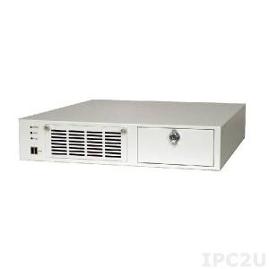 RACK-220GW/A130B 2U Rackmount Chassis, For Full-size for PICMG 1.0 SBC, 2 x 8 cm fan, With ACE-A130B 300W ATX PSU