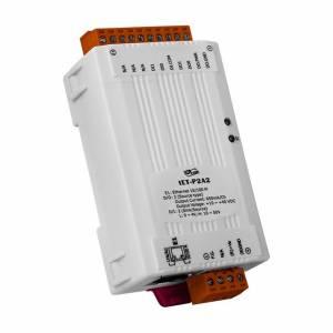 tET-P2A2 Tiny Ethernet I/O Module, 2DI/2DO (PNP, Source)