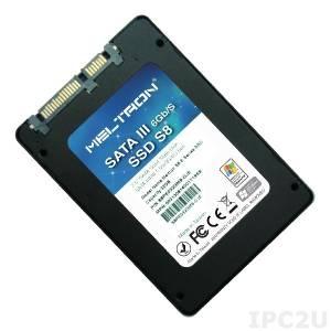"S8PH240GBW-RU 2.5"" SSD Meltron, SATA 3, 240GB, MLC, operating temperature -40..85C"