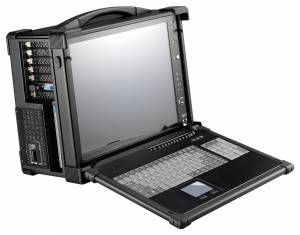 """ARP670-S17AD Aluminum case for a workstation with display 17"""" SXGA 1280x1024 TFT LCD/display interface DVI/10 expansion slots/compartments 2x5.25""""/1x3.5""""/1xSlim DVD/2xSpeakers 3 W/104 keys keyboard/touchpad /1U 650 W Power/support PCIMG/PCIMG 1.3"""