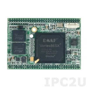 VSX-6119-A-V2 Mity-SoC Module Vortex86SX-300MHz CPU with 128MB DDR2, TTL, AMI BIOS, operation temp -20..70