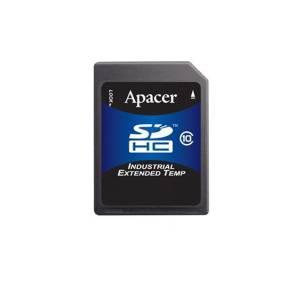 AP-ISD04GIS4B-3T APACER Industrial Secure Digital, 4GB, SLC, operating temperature -40..85 C