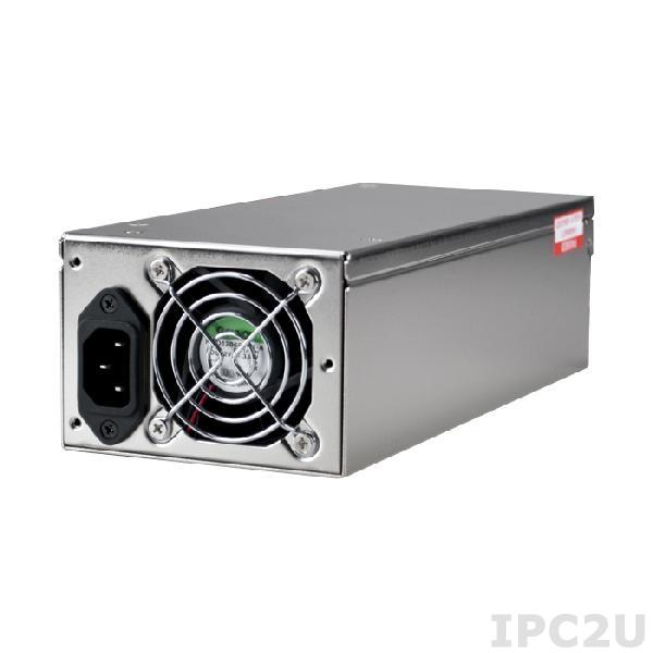 ZIPPY P2H-5500V 2U AC Input 500W ATX Industrial Power Supply, ATX12V, with Active PFC, RoHS