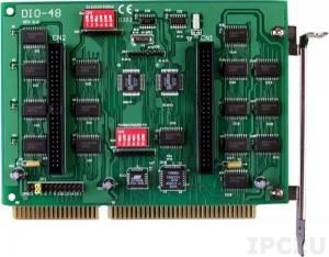 DIO-48 ISA 48DI/O & 1 Counter/Timer Card