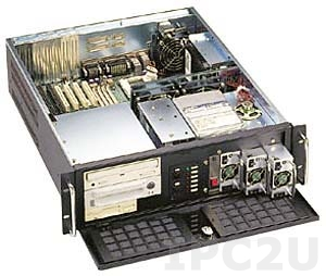 """GH-310ATXR 19"""" Rackmount 3U Chassis, ATX, 2x5.25""""/1x3.5"""" FDD/5x3.5"""" HDD Drive Bays, without P/S"""