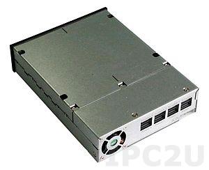 "GHK-425-SAS 4x2.5"" Hot Swap Drive Trays Multi-driver Dock SFF HDD Interface, SAS"