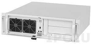 "AREMO-3194-MX-00 19"" Rackmount 3U Chassis, ATX, 2x5.25""/2x3.5"" Drive Bays without Power Supply"