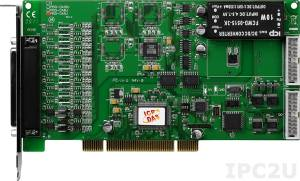 PISO-DA4U Universal PCI, 14-bit 4-channel Isolated Analog Output Board, Version 4.0