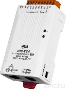 tDS-724 Device Server, 1xRS-232, 1xRS-485, RoHS