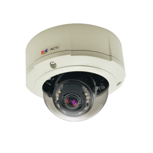 B87 3MP Outdoor Zoom Dome with D/N, Adaptive IR, Superior WDR, 3x Zoom lens, 3-9mm/F1.2-2.1, DC iris, H.264, 1080p/30fps, DNR, Audio, MicroSDHC/MicroSDXC, PoE/DC12V, IP67, IK10, DI/DO