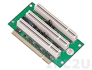 GHP-R0301 3xPCI Slots Riser Card, 32bit, for 2U Rackmount Chassis, 3/5.5/12V