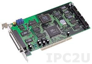 PCI-1002HU/S Multifunction Universal PCI Adapter, 32SE/16D ADC, 16DI, 16DO, Timer, Cable Socket CA-4002x1, DB-1825 daughter board