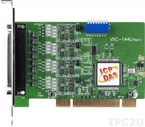 VXC-144U 4xRS-422/485 115.2Kbps Universal PCI Board