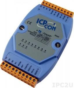 I-7063D Isolated Digital I/O Module w/LED Display