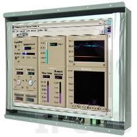 """R12L600-OFM2/WR Industrial 12.1"""" TFT LCD l Display, Open Frame, 1024x768, Resistive Touch Screen , VGA, power supply 12V DC"""