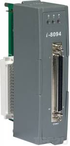 I-8094 4-axis Independent Stepping Motor Control / Servo Motor Control, up to 3 axis linear interpolation, 2 axis circular interpolation