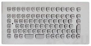 TKV-084-MODUL-USB Embedded Industrial Antivandal IP65 Keyboard, 84 Keys, USB Interface