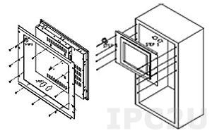 """RK-150MS 15"""" Rack Mount Kit for DM-150G Series"""