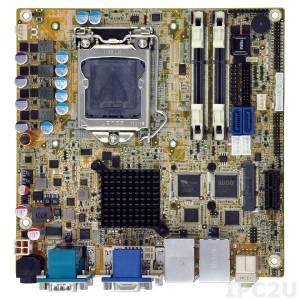 KINO-DH810 Mini-ITX SBC LGA1150 Intel Core i7/i5/i3/Pentium/Celeron CPU per Intel H81, 204-pin DDR3 1066/1333/1600MHz, 1xVGA, 1xDVI-D, 1xiDP, 5xRS-232, 1xRS-422/485, 6xUSB 2.0, 2xUSB 3.0, 2xSATA 6Gb/s, 1xPCIe x1, 2xLAN, HD Audio