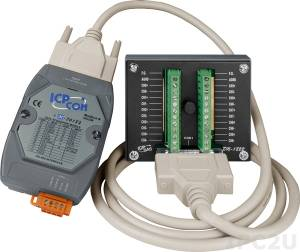 M-7018Z-G/S2 10-channel Thermocouple Input Module include DB-1820 ROHS
