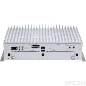 "VTC-7230 Embedded Server Intel Core i3-5010U 2.1GHz CPU, 2GB DDR3L, GPS module+antenna, VGA, DisplayPort, 2xGbit LAN, 2xRS232, 1x RS232/422/485, 4xUSB, Audio, 8xGPIO, CFast Slot, 2x2.5"" SATA Drive Bay, 4xMini-PCIe, 9-36V DC-In"