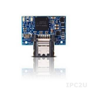 APSDM008GA5AN-PCW APACER SATA disk on module, 8Gb, SLC, 7 pin, operating temp. -40..85C