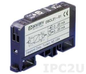DSCL21-01 Loop Powerd Isolator, Input 0...20 (4...20) mA, Output 0...20 (4...20) mA