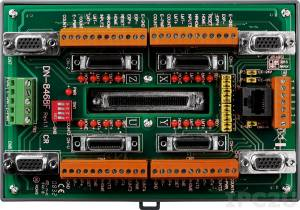 DN-8468FB Daughter board (wiring terminal board) for FUJI motor driver, Din-Rail mountable ROHS, 0.5 A /24 VDC