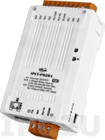 tET-PD2R1 Tiny Ethernet module 2-ch DI (Dry Contact) and 1-ch Form-A relay (RoHS)