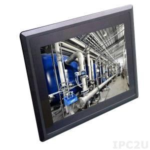 "STR52253-00C 15.1"" TFT LCD Panel PC, STAR Serie, Resistive Touch Screen, Intel Atom E3845 1.91GHz,4GB DDR3L RAM, 2xGb LAN, 4xCOM, 4xUSB, Audio, 1x2.5"" Drive Bay, 2xMini-PCIe, 9-36V Dc-In"