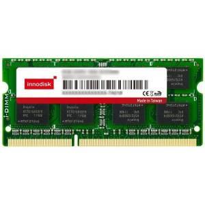 M3S0-4GSJDCPC 4GB DDR3 SODIMM 1600MHz Industrial Innodisk Memory Non-ECC 256Mx8, Micron