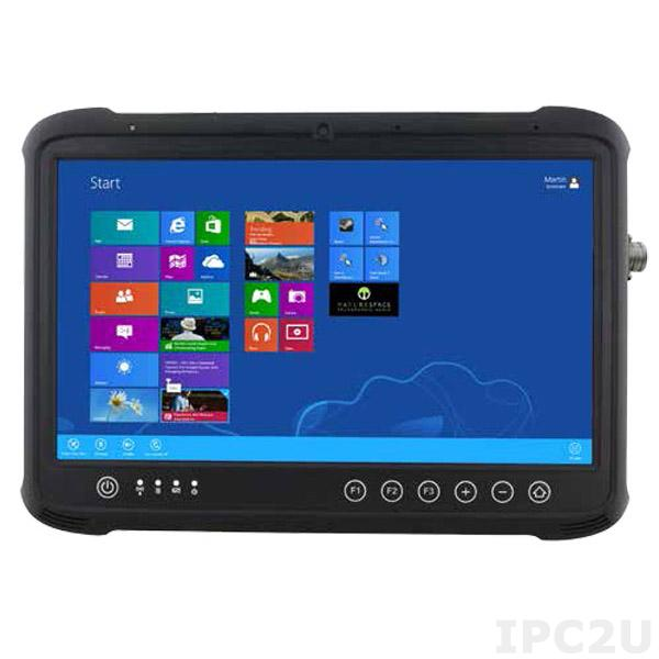 """FDN133R 13.3"""" Rugged Tablet PC with PCT Touch, Intel Core i5-5200U 2.2GHz CPU, 4GB DDR3L-1600, 128GB M.2 SSD, 2xM.2 Slots, 4xUSB, HDMI, GPS, SD Card, Audio, cameras 5MP/2MP"""