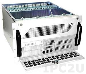 "GHI-691-SATA 19"" Rackmount 6U Storage Chassis, 1x5.25"" Slim/1x3.5"" Slim FDD/32x3.5"" Hot Swap SATA HDD Drive Bays, for Redundant P/S"