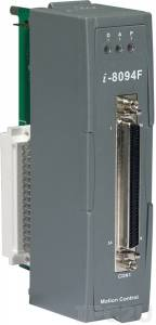 I-8094F 4-axis Independent Stepping Motor Control / Servo Motor Control, up to 3 axis linear interpolation, 2 axis circular interpolation, FRnet port