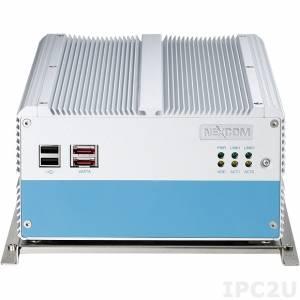 "NISE-3500iP2 (Aktionspreis 1pc/1 Stk) Fanless Embedded Server, Support Intel Core i7/i5, Intel QM57 Chipset, up to4GB DDR3 RAM, w/VGA, DVI-I, 2xGB LAN, 6xUSB, 2x eSATA, Audio, 5xCOM, PS/2, 2 x 2.5"" HDD, 24V DC-In, 1.5KV isolation"