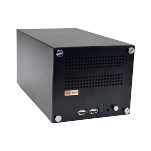ENR-1000 4-Channel 2-Bay Desktop Standalone NVR with Recording 4 x 1080p/30fps, HDMI Port for 1080p Display, Remote Access, Video Export via USB, 4-Channel Synchronized Playback, Plug & Play with Built-in DHCP Server, Disks not included, DC 12V