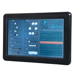 "PPC-090T-D2N4N-GE Fanless Panel PC with 9"" TFT LCD, Touch Screen, Vortex86DX2 933MHz CPU, 1GB DDR2, SATA Slim slot, CF slot, 2xCOM, 3xUSB 2.0, PS/2, 1x LAN, 1x Gbit LAN, Audio, 12-24V DC-In"